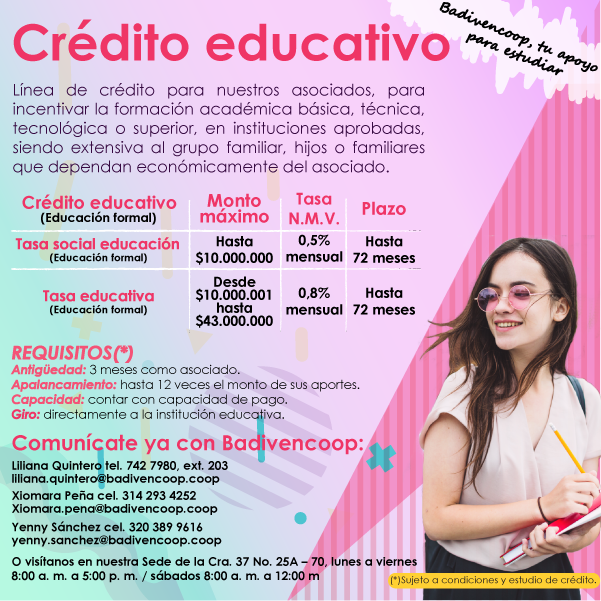 Cedito educativo